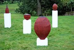 Pleasing pots in the landscape