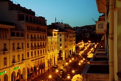 aristotelous-thessaloniki (evamathemat) Tags: old night eva explore greece thessaloniki salonica aristotelous nikond300 evamathemat