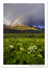 Gothic Rainbow (Ian Plant Nature Photography) Tags: light mountains forest landscape rainbow colorado great national legacy gunnison ianplant rubyphotographer legacyexcellence