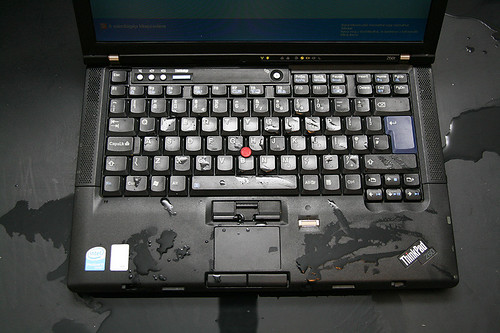 ThinkPad accident