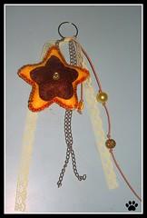 estrela :D (Simo www.criandoeinovando.elo7.com.br) Tags: estrela feltro chaveiro