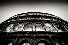 Colosseum Symmetry (Sean Molin Photography) Tags: european vacationeuropeitalyrome2009marchvacationitalli vacationeuropeitalyrome2009marchvacationitallian