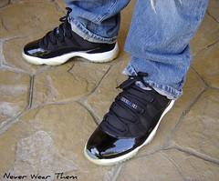 Jordan XI Space Jam '01 (Never Wear Them) Tags: 2001 blue black you space air first nike retro wear jordan 01 what did jam today soles icey jumpman xi patent spacejam wdywt