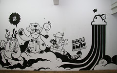 INNOCENTINK TWO (- Ti -) Tags: wall ink back force withe exhibition comix need whale sui zrich kenny ti wallpainting collective kennnyneed innocentink