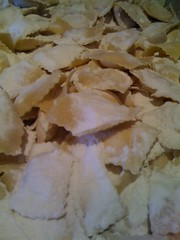 Roasted Garlic & Chevre Ravioli