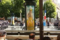 Champs Élysées, Bastille Day: Brüno