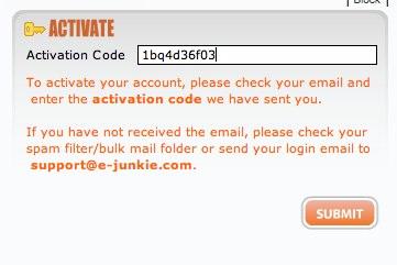 E-junkie (Affiliates) - Login