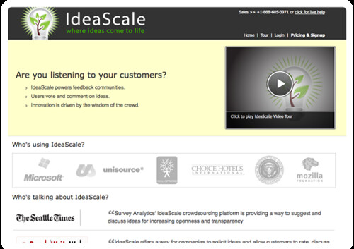 Idea Management - Innovation Management - Crowdsourcing - Suggestion Box - Customer Feedback