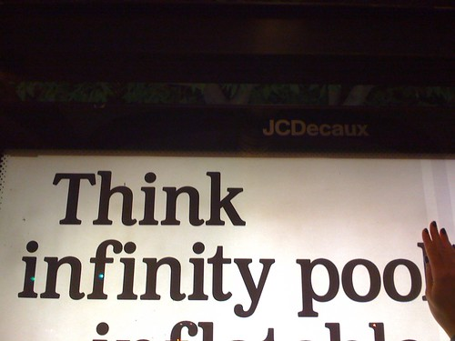 Think infinity poo