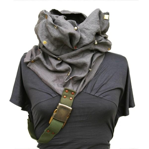 AttilaDesign Convertible Linen Scarf Hood 1