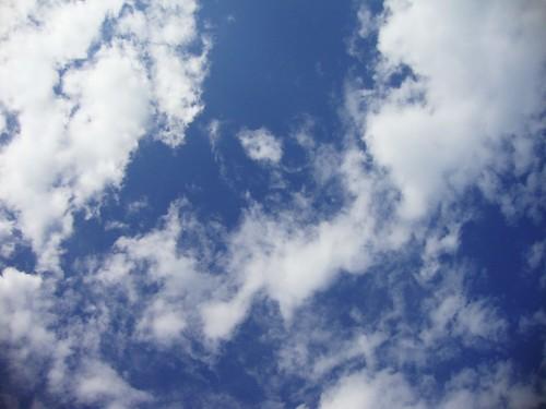 sky. 9.03.2009