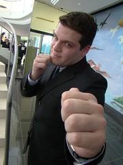 Do you wanna get punched? (shadowglas) Tags: brazil guy last computer de die hand year graduation tie engineering institute suit dos ita bronco punch so jos campos finally prepare tecnology aeronautics instituto aeronutica tecnolgico comp09
