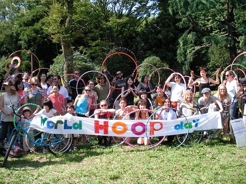 World Hoop Day Hoopers - Tokyo