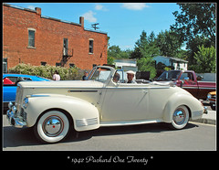 1942 Packard One Twenty (sjb4photos) Tags: car automobile packard packard120 autoglamma 1942packard grasslakecruise09