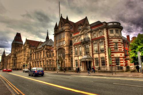 oxford street: manchester university