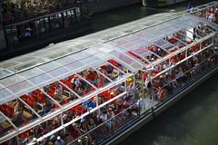 Paris Tour Boats (Mitch's Corner) Tags: paris france europe riverseine tourbus