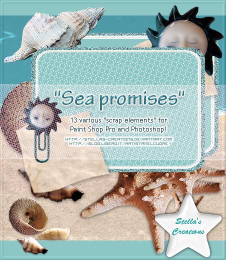 Sea promises - © Blog Stella's Creations: http://sc-artistanelcuore.blogspot.com