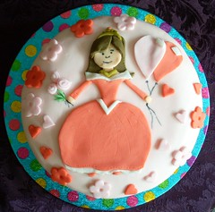 Princess Lucy birthday cake
