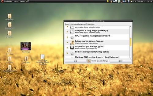 Karmic Desktop