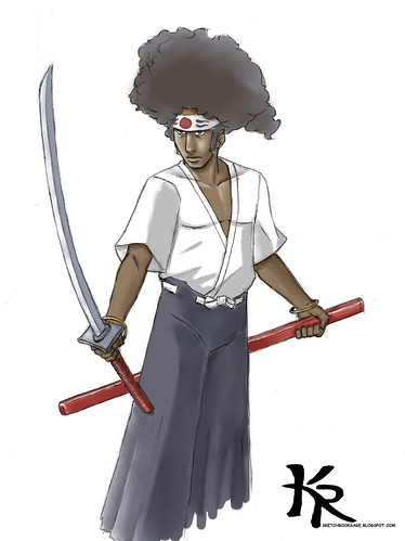 afro samurai col