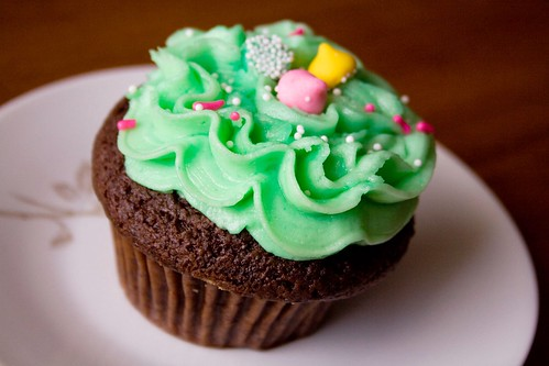 Peppermint Patty Cupcake, Common Ground, Renton