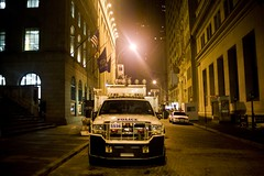 Police Truck (lachance) Tags: nyc newyorkcity newyork capital newworldorder police nypd stocks wallstreet capitalism economics greed capitalist nyse finance newyorkstockexchange investments financialsector americanempire financialsystem bigbuisiness federaldeficit mg9049jpg collatoralizeddebitobligations
