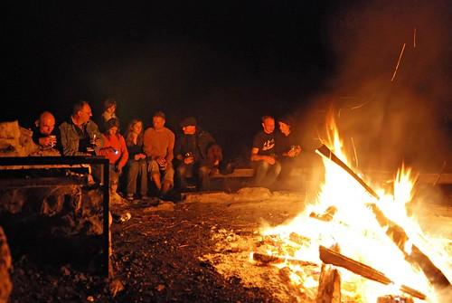 Sommerendefeuer am Jägersberg