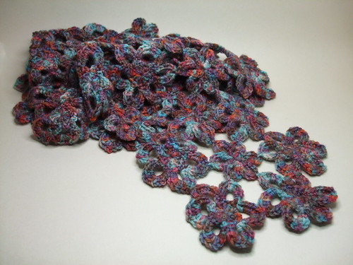 Crochet stole/scarf