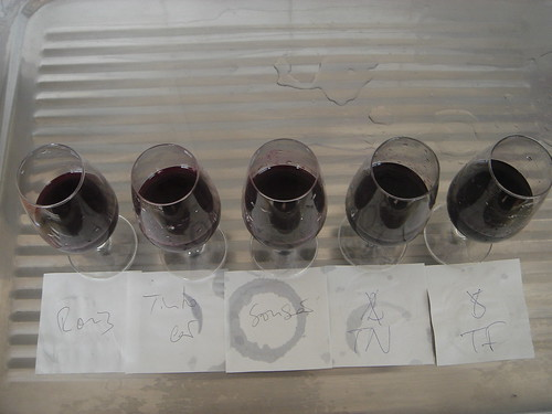 5 different single-varietal Ports