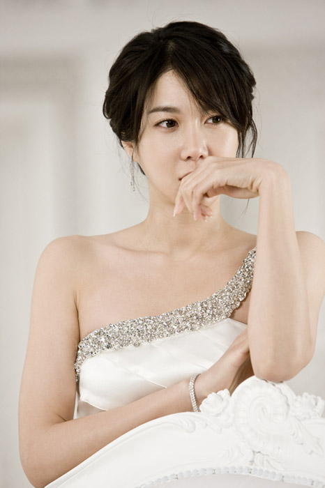Lee Ji Ah (이지아)' Elegant White Dress Photoshoot - beautiful girls
