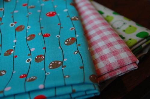 Fabrics shopping