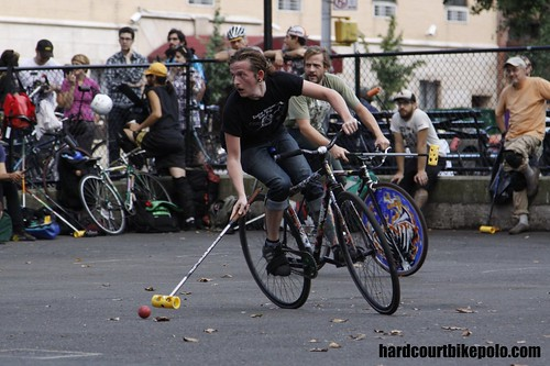 hardcourt bike polo new york max knight