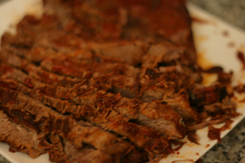 Slow-Cooker BBQ Joint Beef Brisket Recipe
