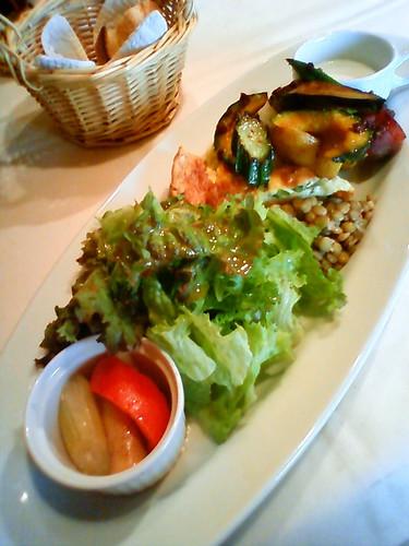 レストラン オゥ レギューム(aux Legumes)