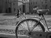 bicycles #4 (Biagio De Giovanni) Tags: street bw olympus bicycles e300 ferrara