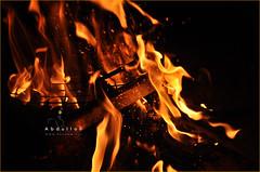 When the FIRE breaking out. (Abdulla Attamimi Photos [@AbdullaAmm]) Tags: fire flame flare hot heat light yellow abdulla abdullaamm abdullahamm abdullah attamimi altamimialtamimi tamimi amm desamm desammnet desammcom photo photos photography photographic nikon d90 2008 2010 نار حريقه شب حطب عبدالله التميمي تميمي abdullahattamimi abdullaattamimi