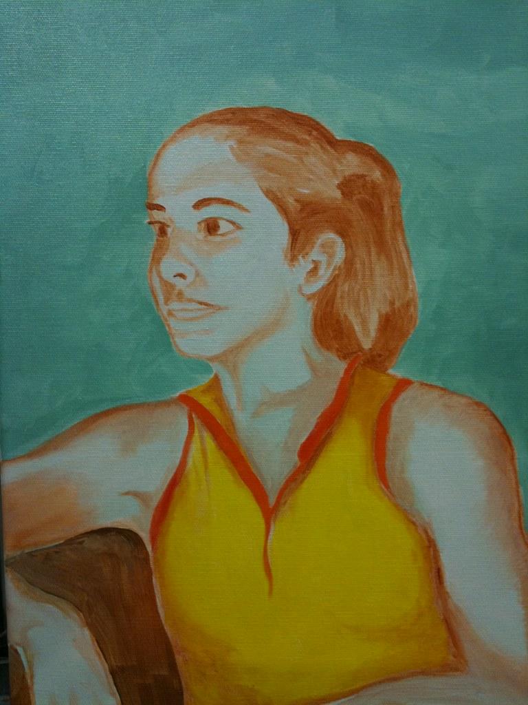 portrait underpainting