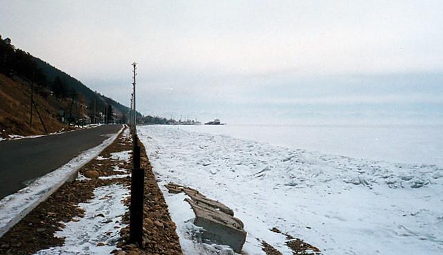 Siberia 1990: Lake Baikal At Listvyanka.