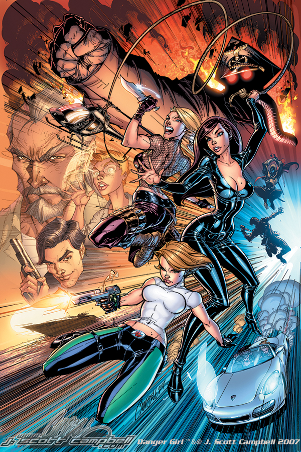 Danger_Girl_Poster_Color_by_J_Scott_Campbell