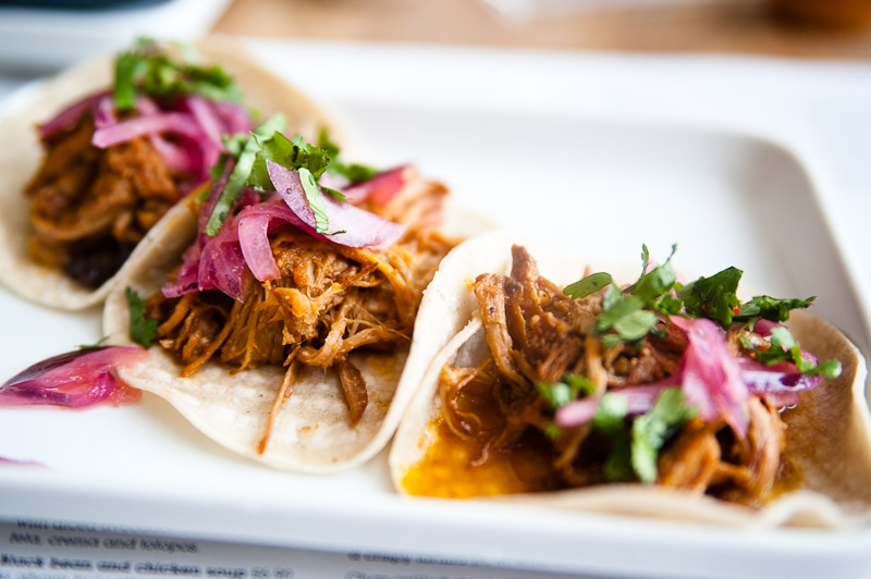 Lunch at wahaca - Pork Pibil Tacos