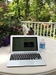 the outdoor home office