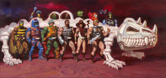 Masters Of The Universe - Battle-Bones (painting by William George)