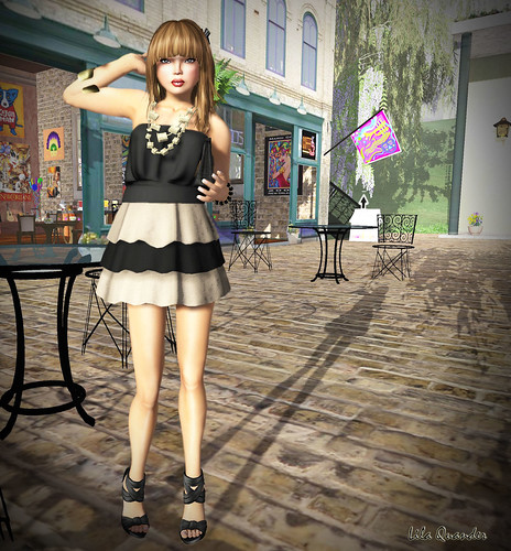 [GIEREH] - anelise dress cream