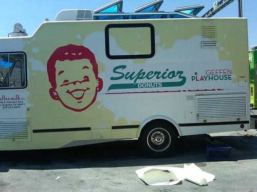 Superior Donuts truck-Geffen Playhouse