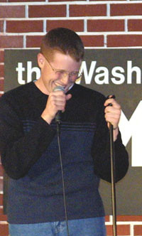 Chris White Performing 2