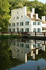 Museum House, Great Falls, MD (desbah) Tags: house reflection absolutelystunningscapes cocanalgreatfallsmaryland