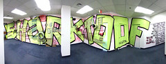 Shark Toof (Voluntary Amputation) Tags: panorama streetart graffiti paint nh tags spray bumblebee explore portsmouth photostitch harbourplace alexandrosvasmoulakis herakut sharktoof andreasvonchrzanowski portsmouthmuseumofart may112011september112011