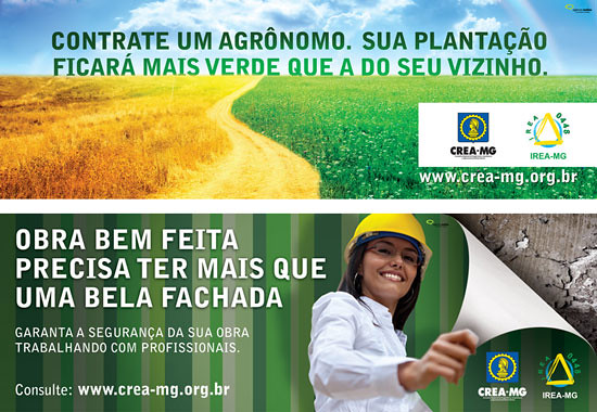 campanha CREA MG