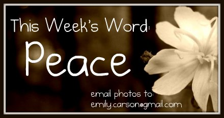 This Week's Word, Peace
