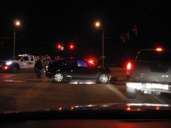 Accident at Marksheffel and Constitution